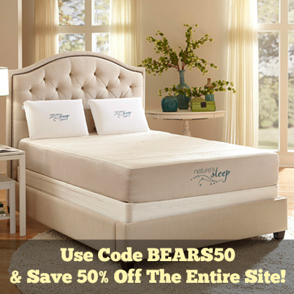 Nature's Sleep 50% Off Holiday Sale