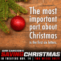 Saving Christmas - The Most Important 6 Letters