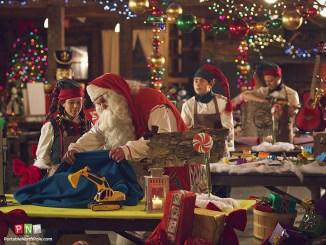 The elves have a surprise for Santa!
