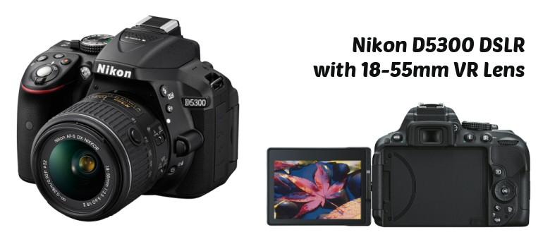 DI multi Nikon D5300 front and back