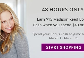 Madison Reed - Earn $15 MR Bonus Cash 2/15-2/16