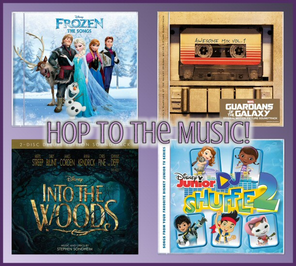 #DisneyMusic and #ENMNetwork Hop to the Music Review and Giveaway