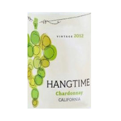 Chardonnay, 2012. Hangtime - Wine of the Month Club - $15.99