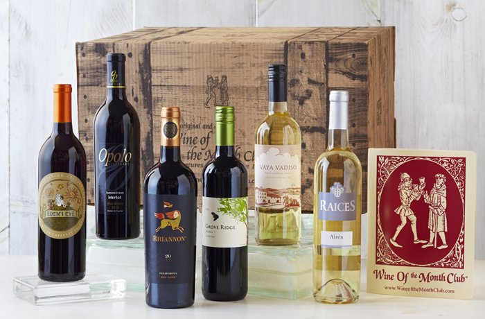 Our Wine of the Month Club Favorites