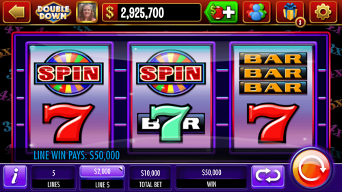 $50,000 Line Payout in DoubleDown Casino