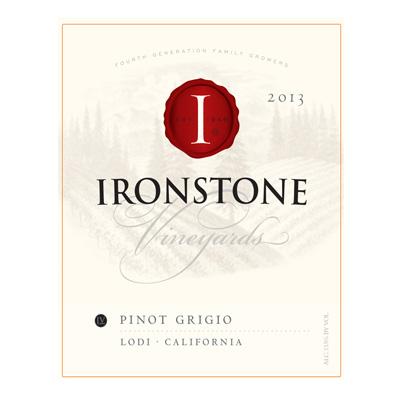 Pinot Grigio, 2013. Ironstone - Wine of the Month Club - $23.99