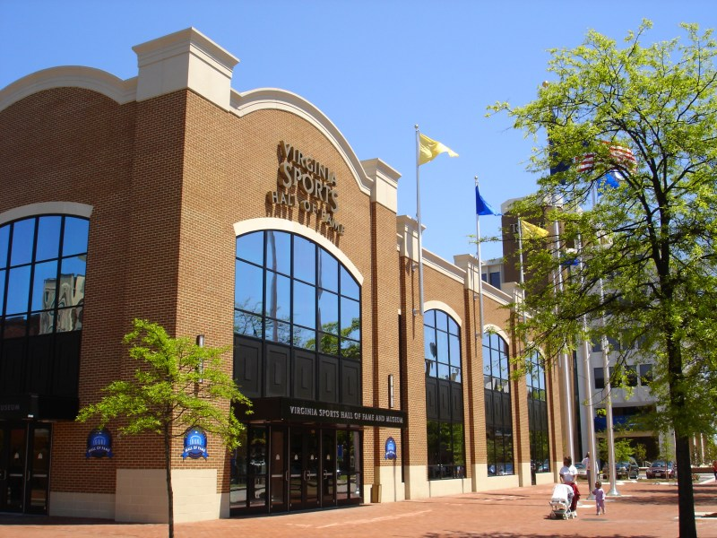 Visit the Virginia Sports Hall of Fame & Museum located at 206 High Street in Olde Towne Portsmouth, Virginia  •|• Summer Family Fun in Central Virginia on a Budget from Life in a House of Testosterone