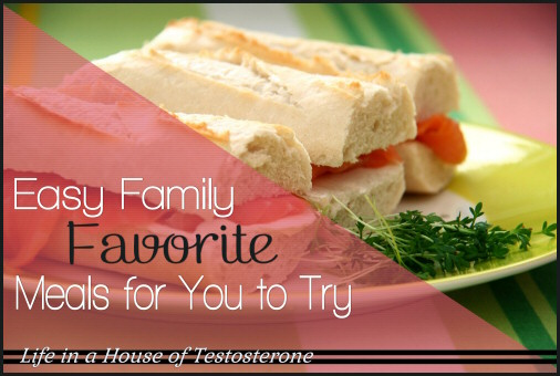 Easy Family Favorite Meals for You to Try
