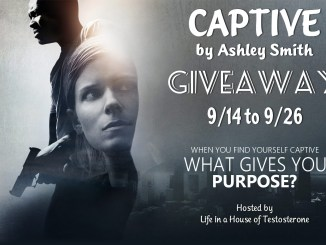 """""""Captive"""" by Ashley Smith - Giveaway from Life in a House of Testosterone"""