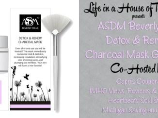 ASDM Beverly Hills Charcoal Mask Giveaway
