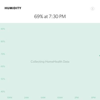 Humidity - Canary HomeHealth Technology
