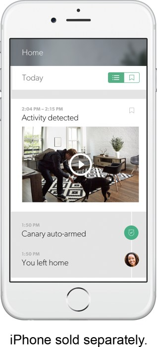 Canary 2.0 on your Smartphone