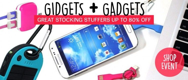 Gidgets & Gadgets Electronic Stocking Stuffers at Groopdealz – Ends 12/5