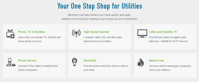 Allconnect - Your One Stop Shop for Utilities