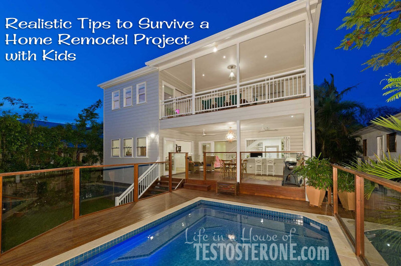 Realistic Tips to Survive a Home Remodel with Kids