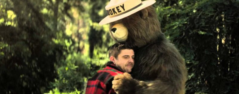 Teach lesser known causes of forest fires in the new Rise from The Ashes Smokey Bear PSA #OnlyYou #SmokeyBearHug