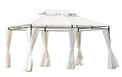 Gazebo Party Tent with Sidewalls - $350.85 from Wayfair