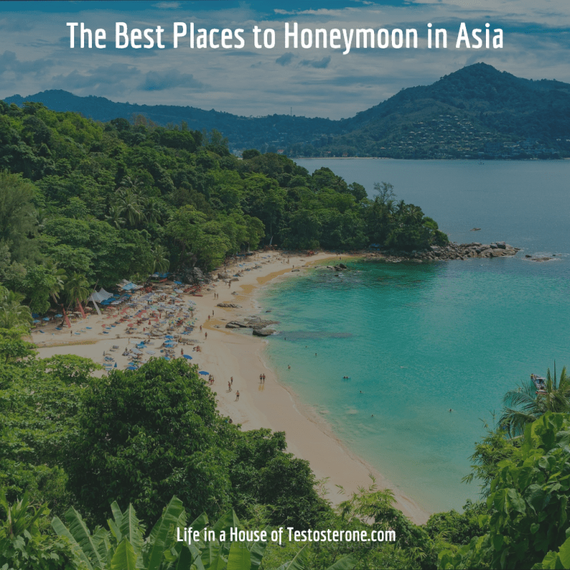 The Best Places to Honeymoon in Asia