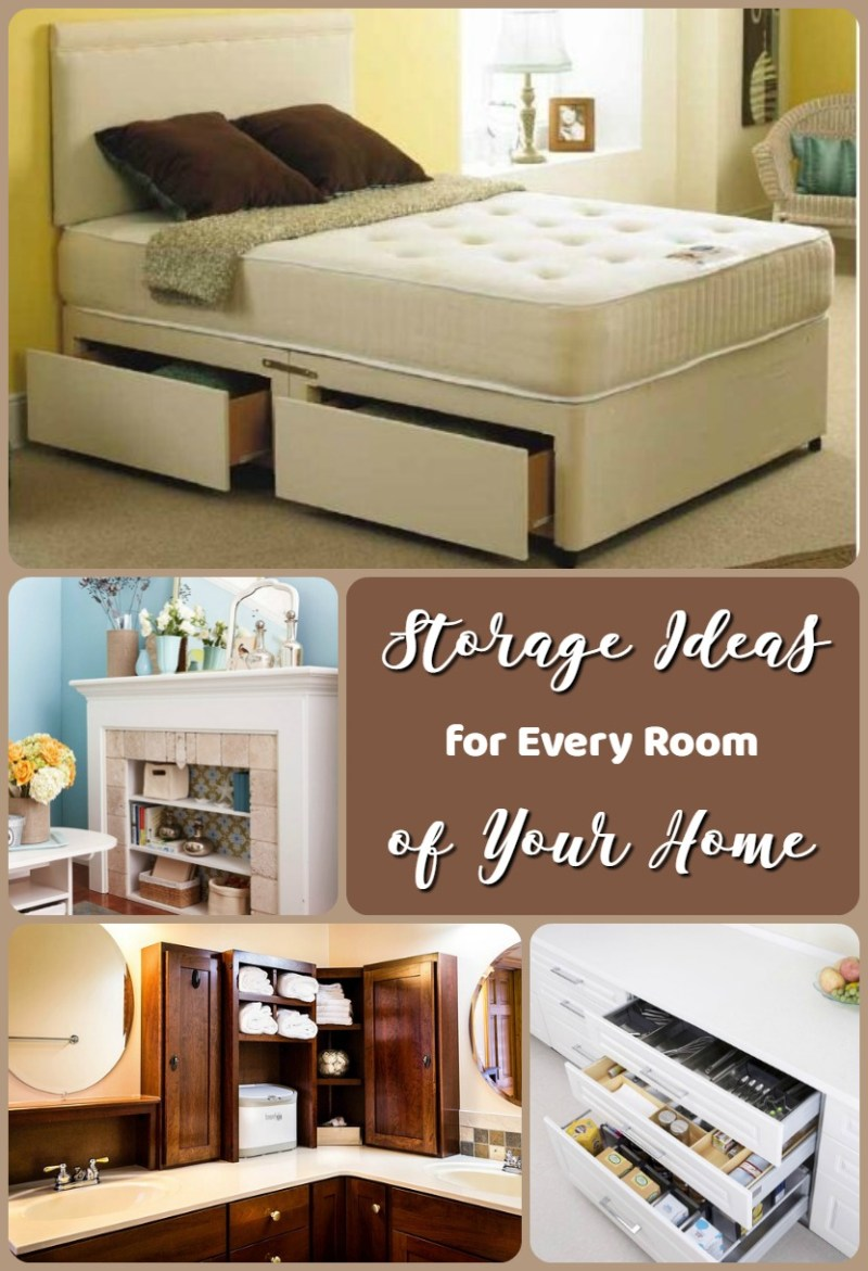 Storage Ideas for Every Room of Your Home