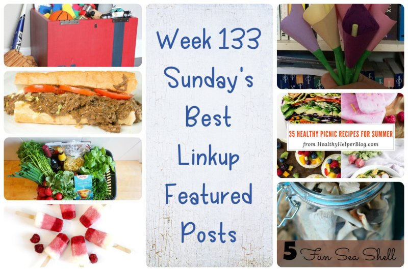 Week 133 Sunday's Best Linkup