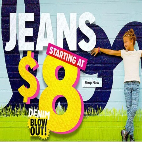 Huge #DenimAtKmart Blowout Sale