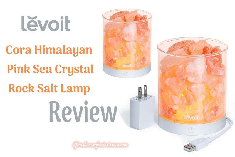 Review: Levoit Cora Natural Glow Pink Sea Crystal Himalayan Salt Lamp