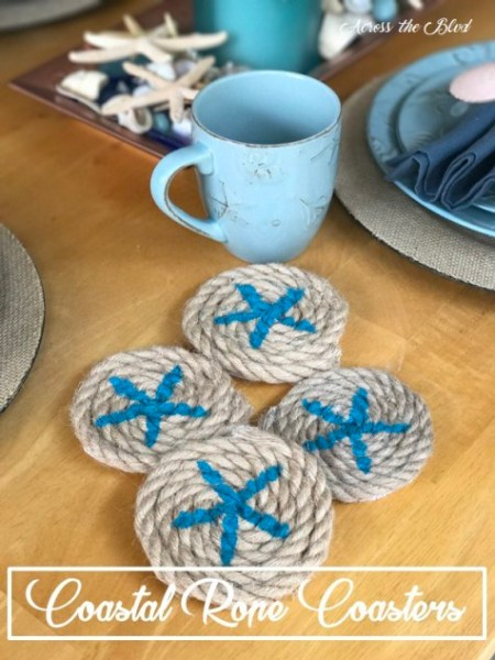 Week 136 Sunday's Best Featured Post - Coastal Rope Coasters from Across the Blvd