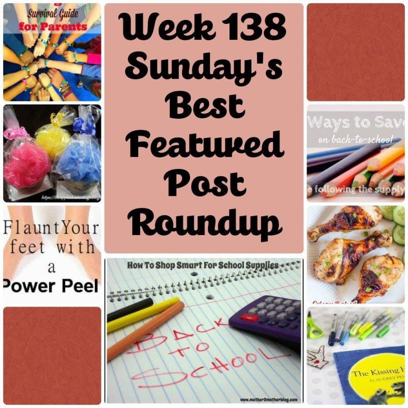 Week 138 Sunday's Best Linkup