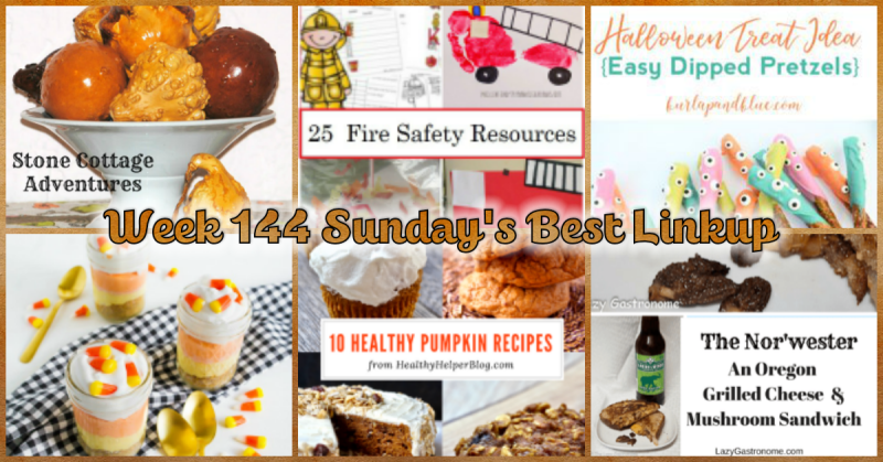 Week 144 Sunday's Best Linkup