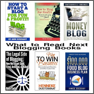 Week 145 - Free Books to Make You a Better Blogger from The Treasured Book Shelf