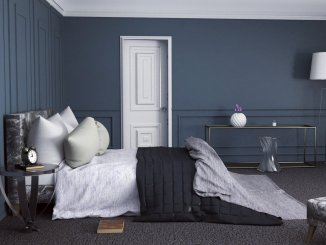 A Dark And Moody Bedroom