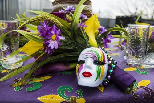 Celebrating Mardi Gras
