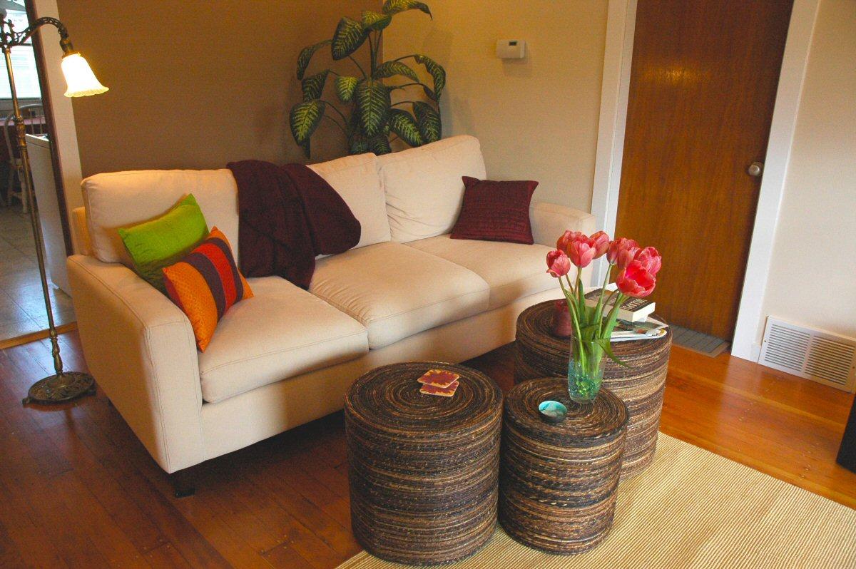 Peggy's Zen Living Room