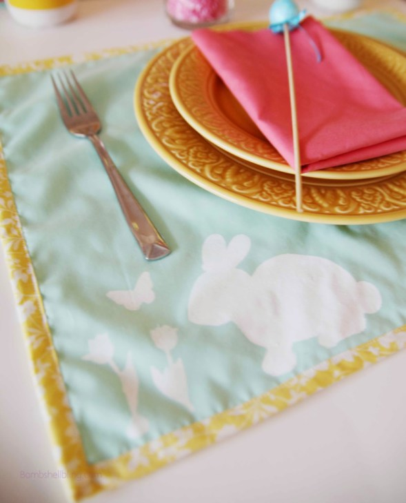 Week 167 Easter Placemats from Bombshell Bling