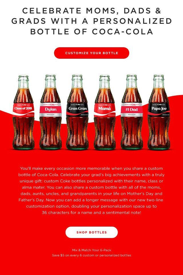 Coca-Cola Personalized Bottles