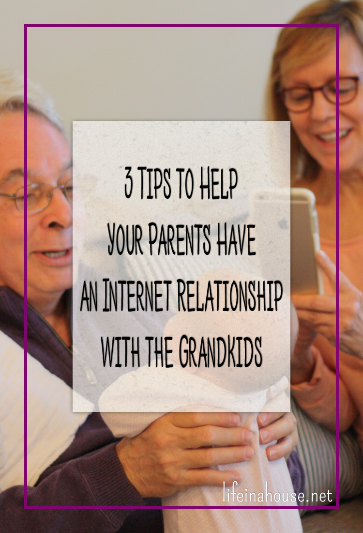 Tips to Help Your Parents Relationship with the Grandkids
