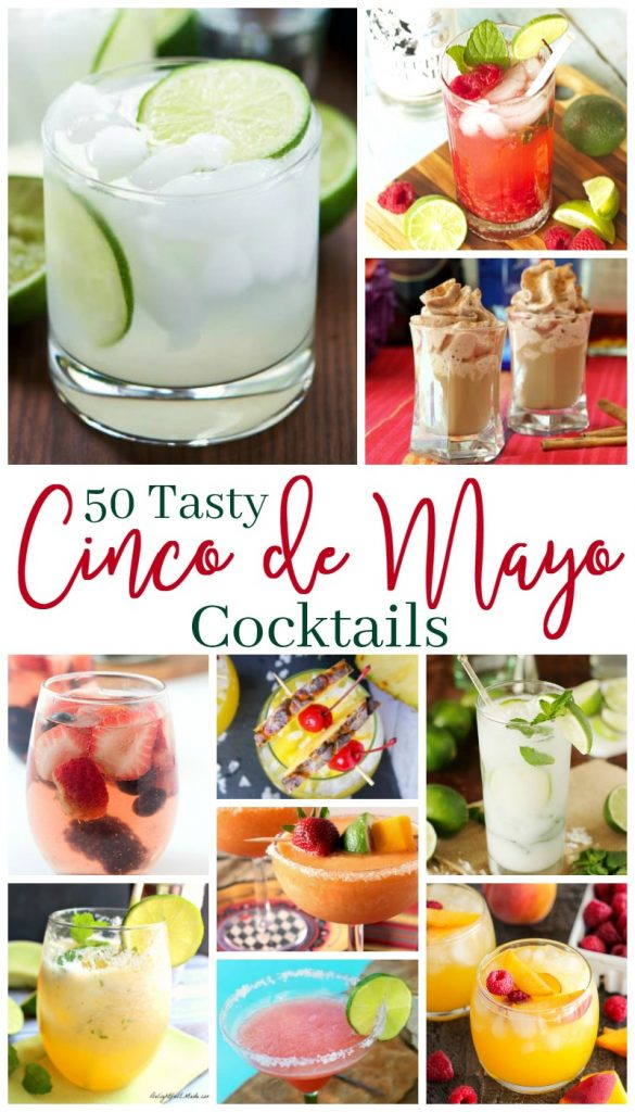 Week 170 50 Tasty Cinco de Mayo Cocktails from Busy Being Jennifer #CincodeMayo #cocktails #alcohol
