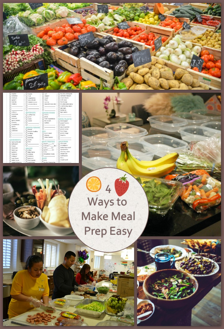 4 Ways to Make Healthy Meal Prep Easier