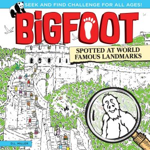BigFoot Spotted at World Famous Landmarks