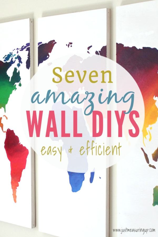 Week 179 - Amazing Wall DIYs from Just Measuring Up