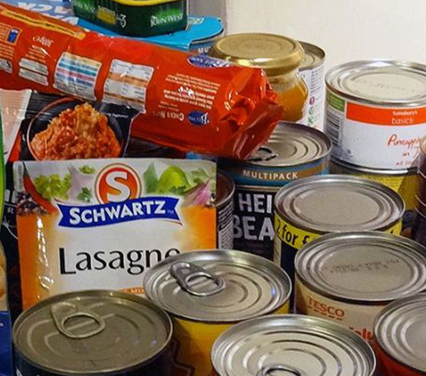 Donate Food to Your Local Food Bank