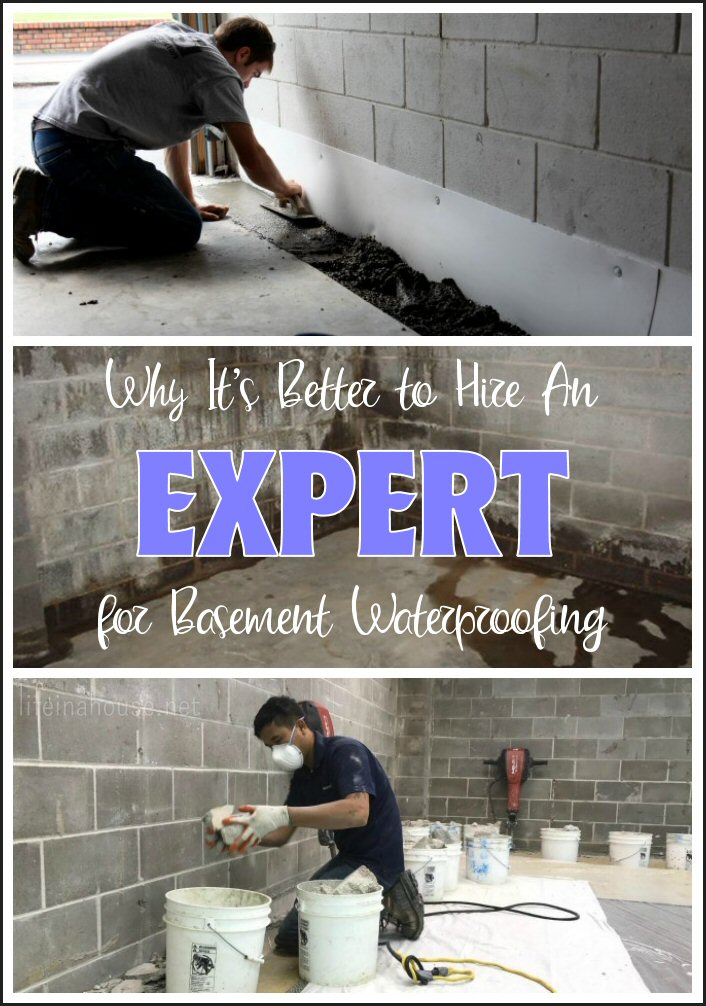 Why You Should Hire An Expert for Basement Waterproofing
