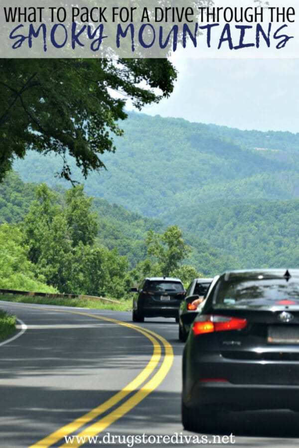 Week 189 - What to Pack for A Drive Through the Smoky Mountains from Drug Store Divas
