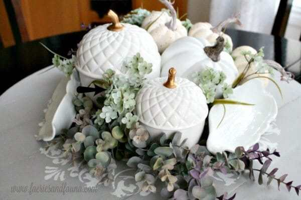 Week 191 - How to Make a Fall Centerpiece from Faeries and Fauna