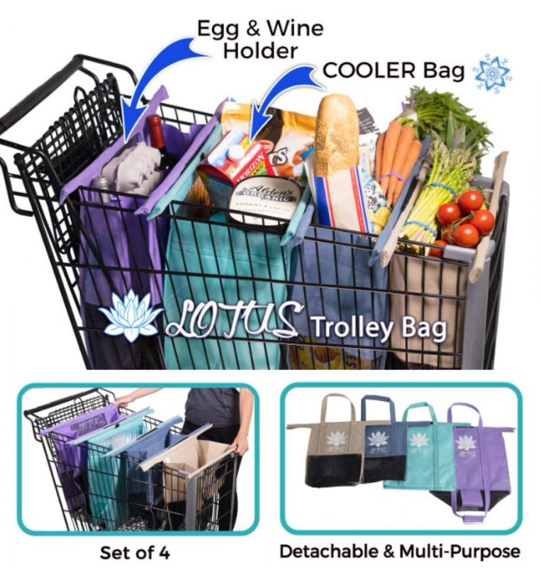 Lotus Trolley Bag explained