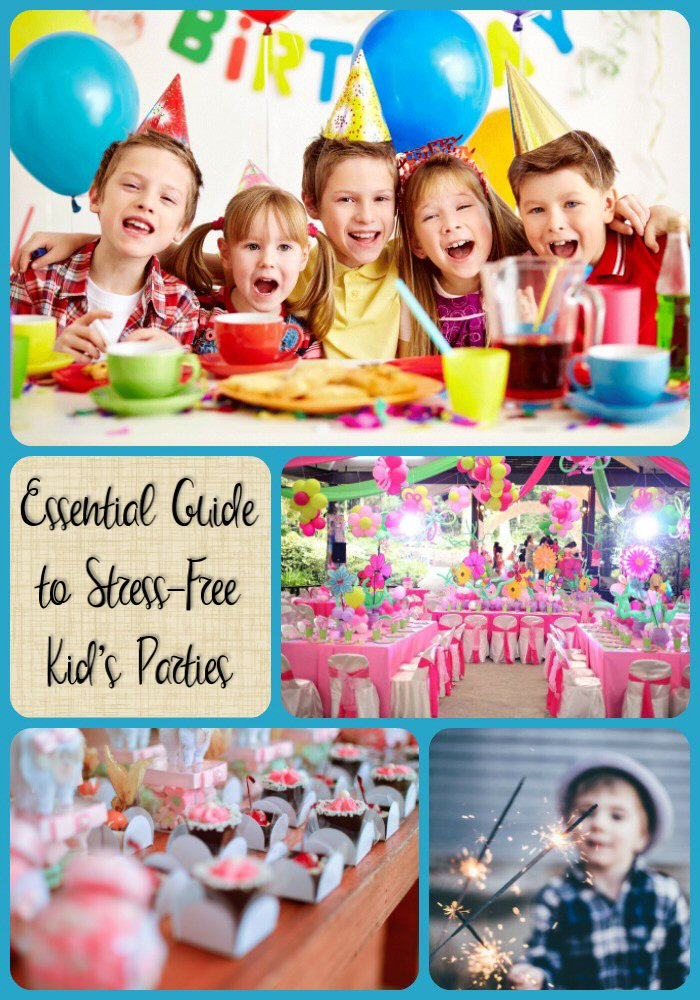 Guide to Stress Free Kid Parties