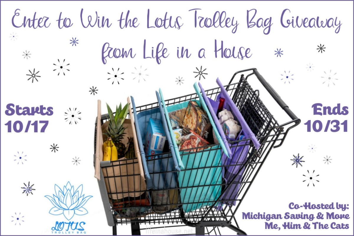 Lotus Trolley Bag Giveaway feature