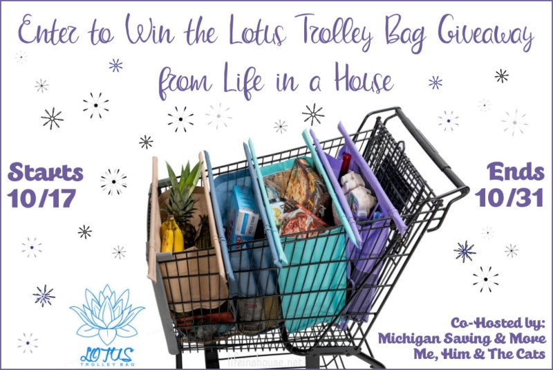 Giveaway: Lotus Trolley Bag for 1 Lucky Reader ends October 31, 2018