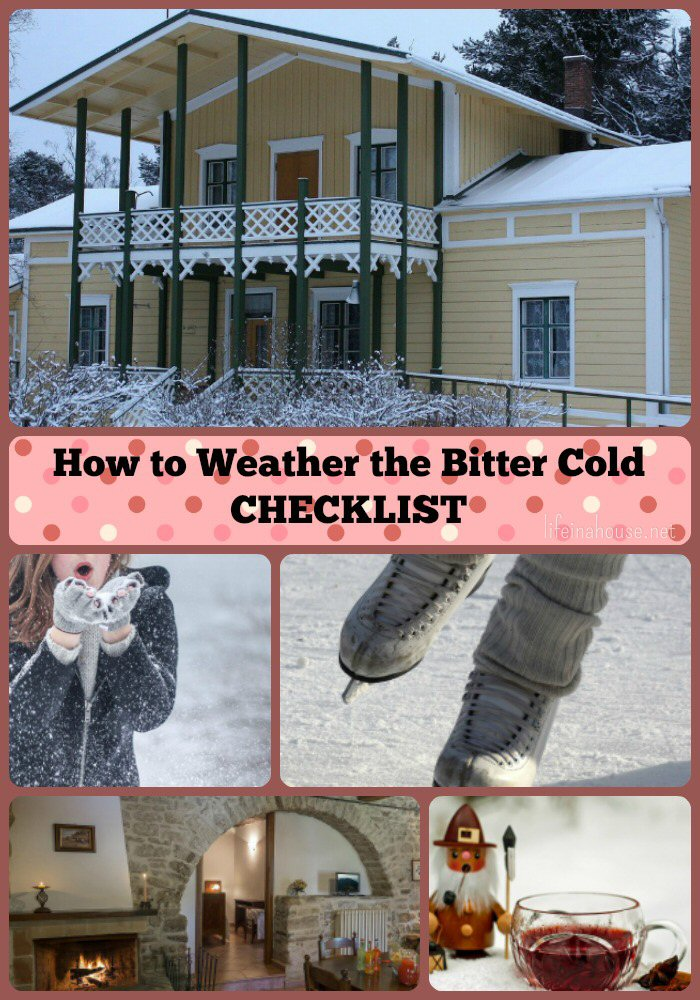 A Checklist to Weather the Bitter Cold