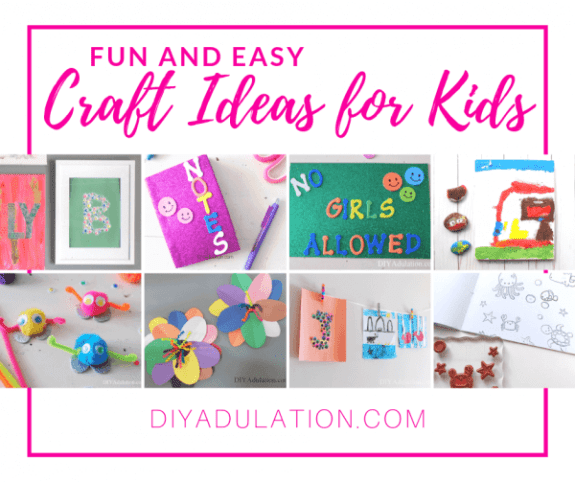 Week 219 - Craft Ideas for Kids from DIY Adulation